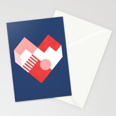 Heart II Stationery Cards
