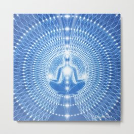 The Expression of the Divine Metal Print