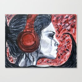 Hyper Music Canvas Print