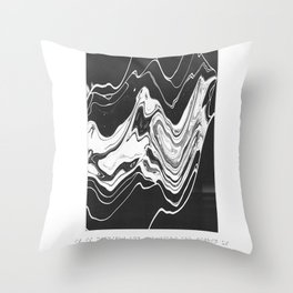 -We swallowed the sky whole; Throw Pillow