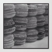 macaroons Canvas Prints featuring macaroons by Amit Naftali