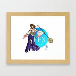 FFX Yuna Framed Art Print