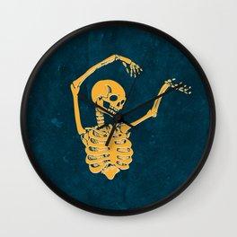 Danse Macabre 2 Wall Clock
