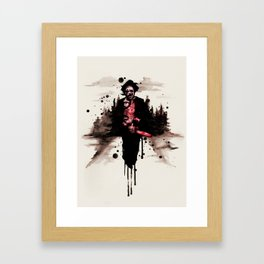 Leatherface 1974 Framed Art Print