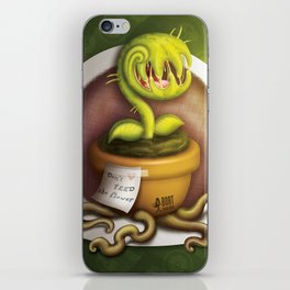 Evil Flover iPhone Skin