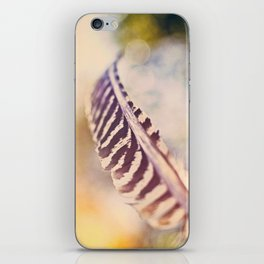 Let the wind carry you iPhone Skin