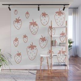 Strawberry Fields Wall Mural
