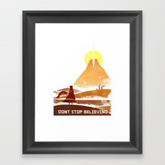 Journey On and On Framed Art Print