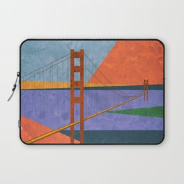 Golden Gate Bridge II Laptop Sleeve