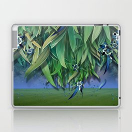 """Spring Forest of Surreal Leaf litter and flowers"" Laptop & iPad Skin"