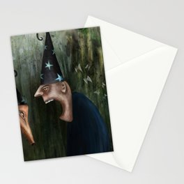 Trouble at the Magic Show Stationery Cards