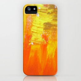 Aflood with gold and rose iPhone Case