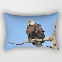 Patiently Waiting! Rectangular Pillow
