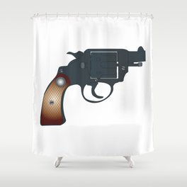 Snub Nose 45 Shower Curtain