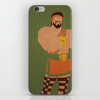 hercules iPhone & iPod Skins featuring Hercules by Young Jake