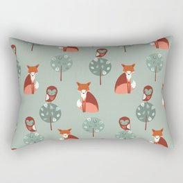 Fox Woods Rectangular Pillow
