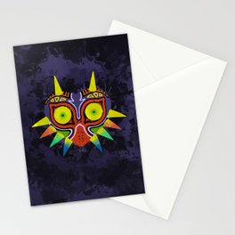 Majora's Mask Splatter Stationery Cards