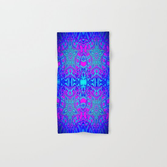 Bright Cool Stars Hand & Bath Towel