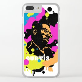 Soul Activism :: Curtis Mayfield Clear iPhone Case