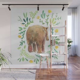 Watercolor Bear Wall Mural