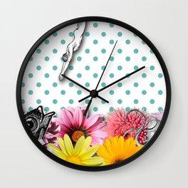 THE SWIMMING POOL Wall Clock