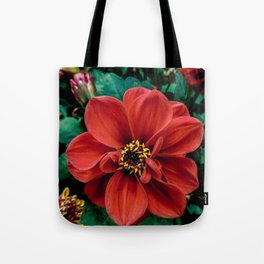 Red Flower. Tote Bag