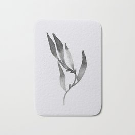 Baesic Mono Floral (Leaf 1) Bath Mat