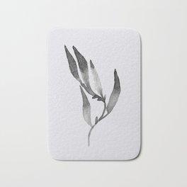 Baesic Mono Floral (Leaf 1) Bath Mat