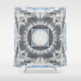 Morning: Corniglia Shower Curtain