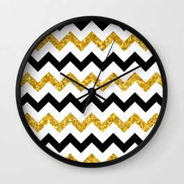Chevron 22 Wall Clock