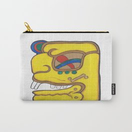 MAYAN GLYPH UACLAHUN Carry-All Pouch