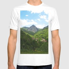 The North MEDIUM Mens Fitted Tee White