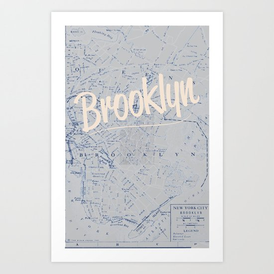 Brooklyn Art Print
