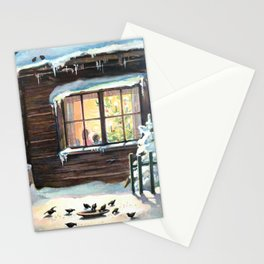 Christmas Card, Scandinavian, 19th century Stationery Cards