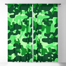 Camouflage (Green) Blackout Curtain