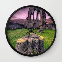 Welsh Abbey Wall Clock