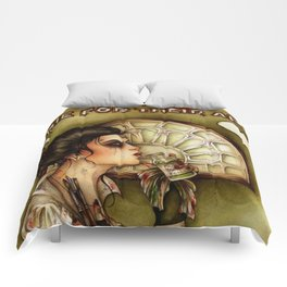 Some People Die for their Art Comforters