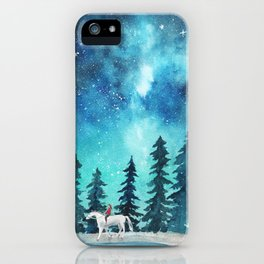 Take me to the stars iPhone Case