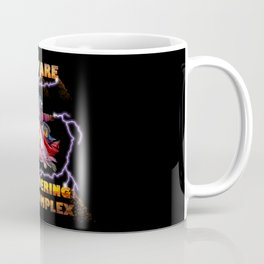 Beware Thundering God Complex Coffee Mug