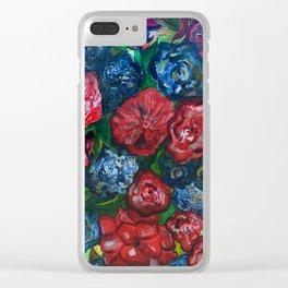 Magic Garden Clear iPhone Case