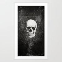 Shadows and Dust Art Print