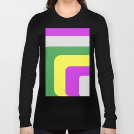 Rounded Stripes Long Sleeve T-shirt
