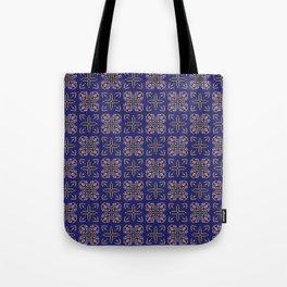 Royal [abstract pattern A] Tote Bag