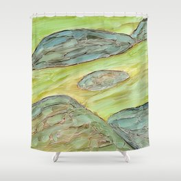 Eno River 21 Shower Curtain