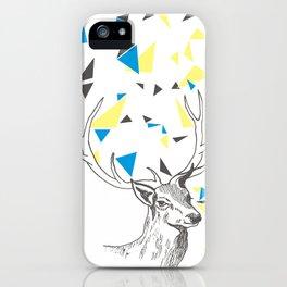 Rainbow Collection / deer iPhone Case