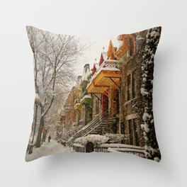 The Great Silence Throw Pillow