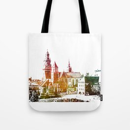 Cracow Wawel Tote Bag