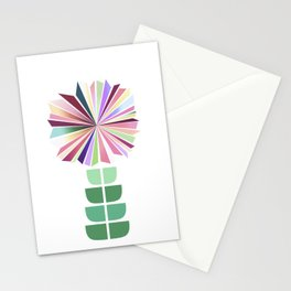 70ies flower No. 1 Stationery Cards