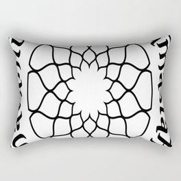Lokah Samastah Sukhino Bhavantu Rectangular Pillow