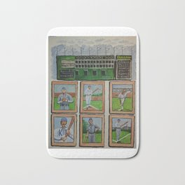 Kansas City Baseball Since 1884 Bath Mat